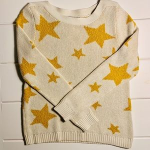 Marled Reunited Clothing - star boat neck sweater